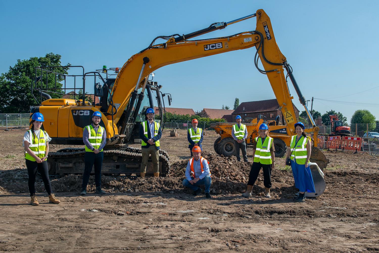 Ground broken on 26-home Harworth development