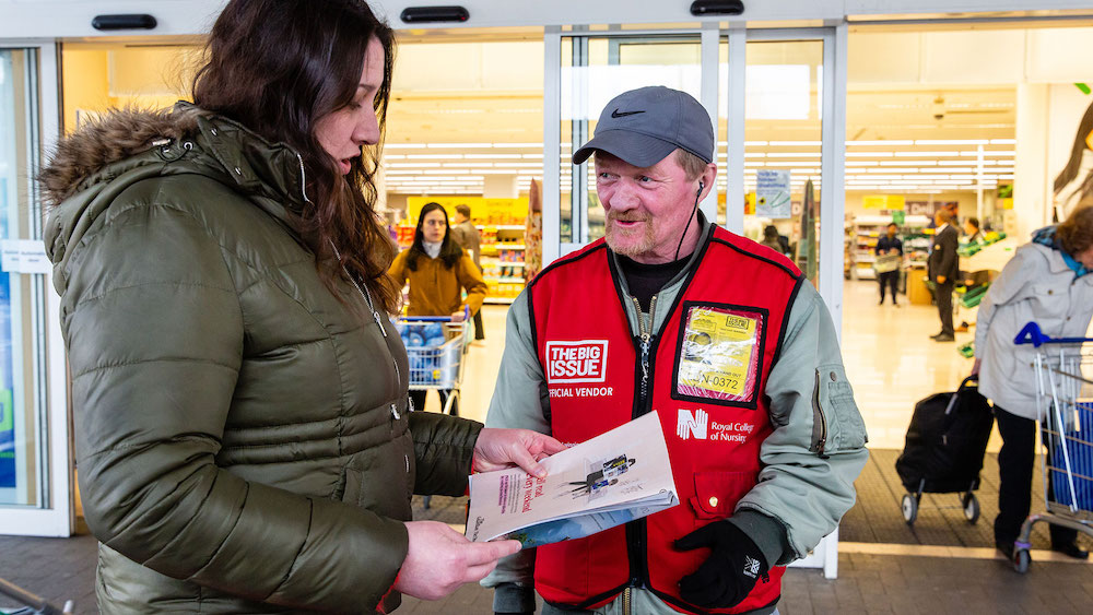 UK's Largest Housebuilder Supports The Big Issue In The Wake Of Covid-19 Crisis