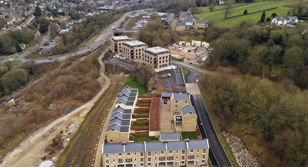 FIRST COMPLETIONS TAKE PLACE AT MAJOR MATLOCK DEVELOPMENT IN THE HEART OF THE DERBYSHIRE DALES