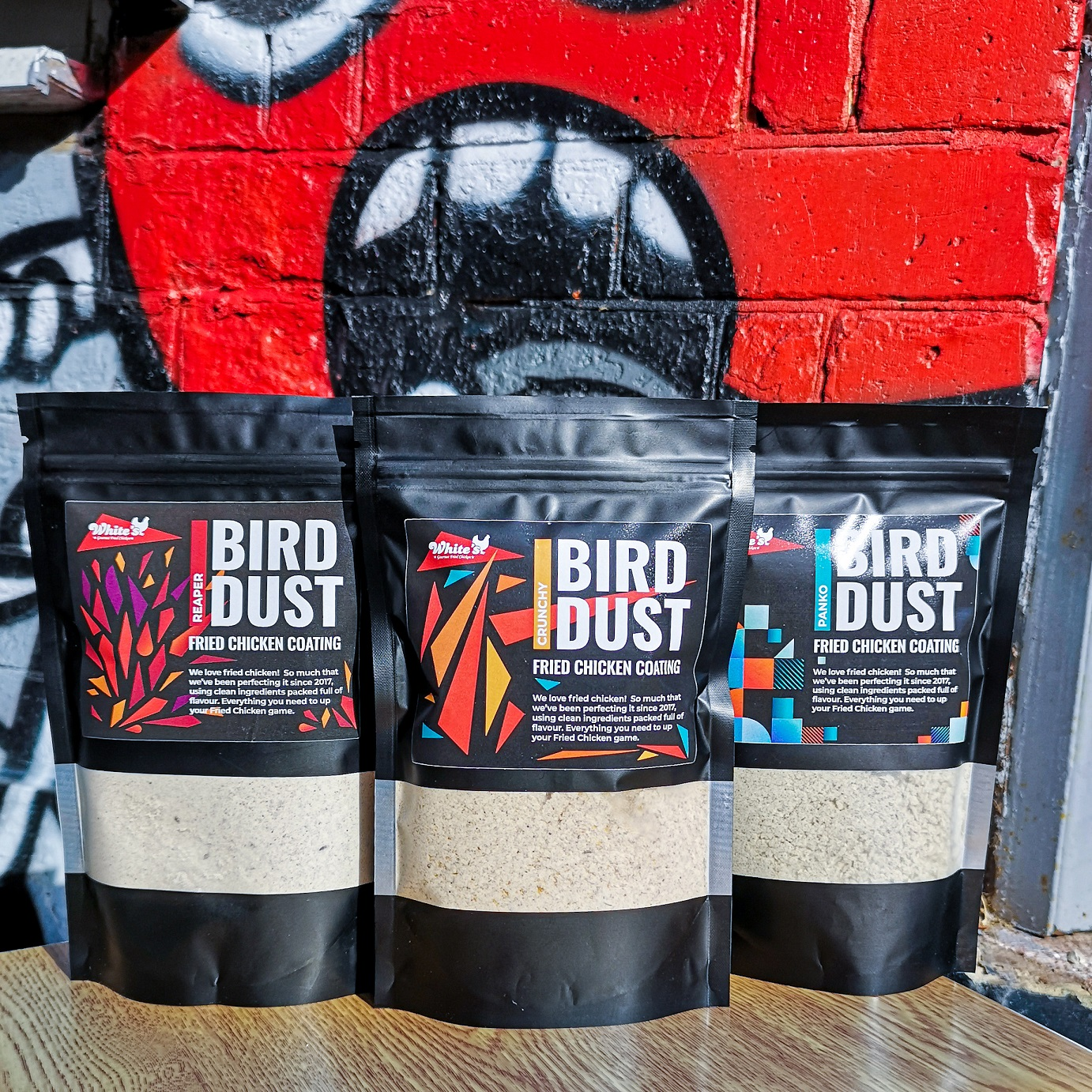 Entrepreneur's tasty Bird Dust range of chicken coatings is flying off the shelves after support from the Food Innovation Centre