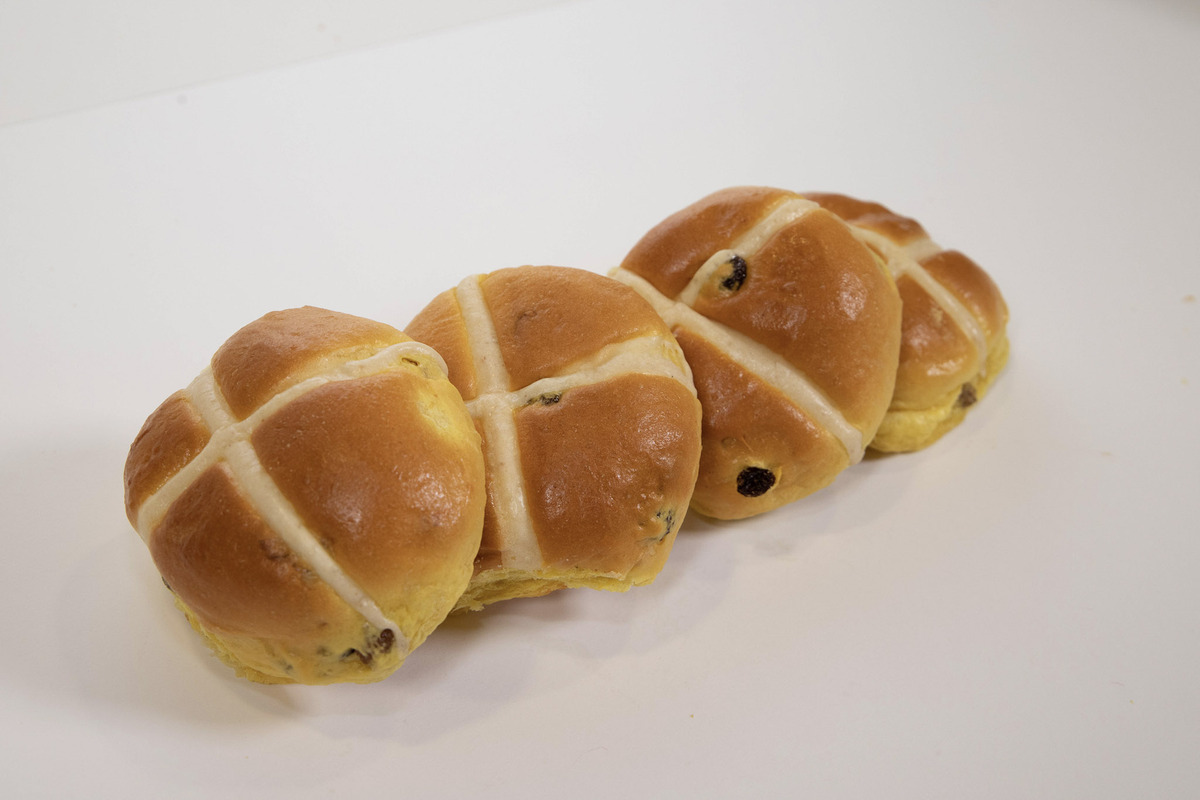 BAKERY HOPS TO SUCCESS AS THOUSANDS OF HOT CROSS BUNS SELL OVER EASTER PERIOD