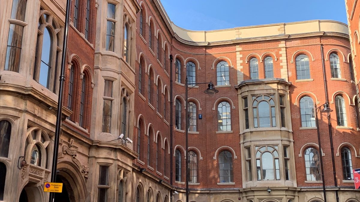 Historic building designed by TC Hine brought back to life in Nottingham