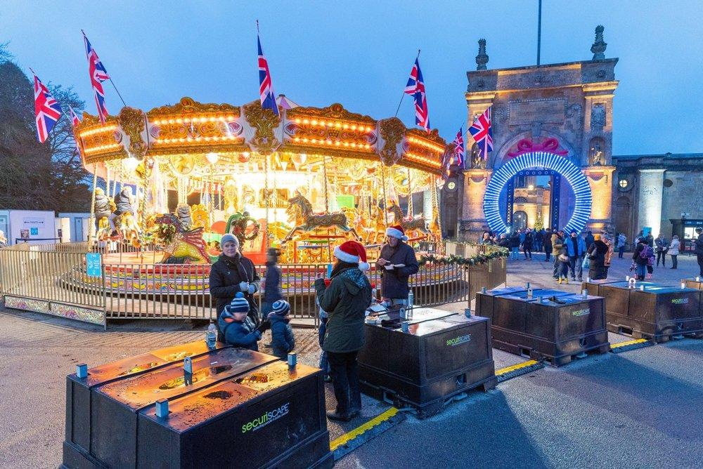 SecuriPods helps keep Blenheim Palace's Christmas Lights trail safe