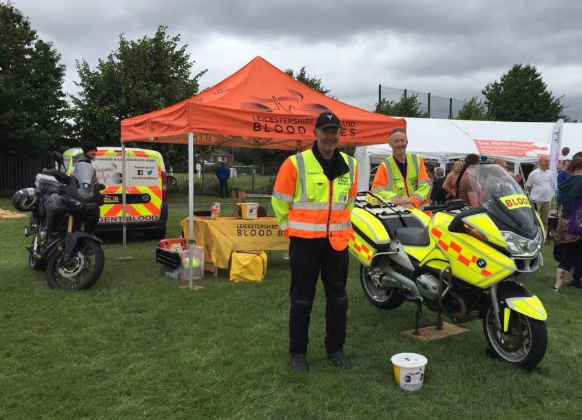 Regional property firm sponsors Leicestershire & Rutland Blood Bikes