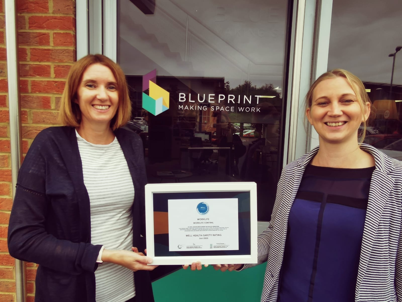 Blueprint Interiors first in East Midlands to achieve WELL Health Safety Rating
