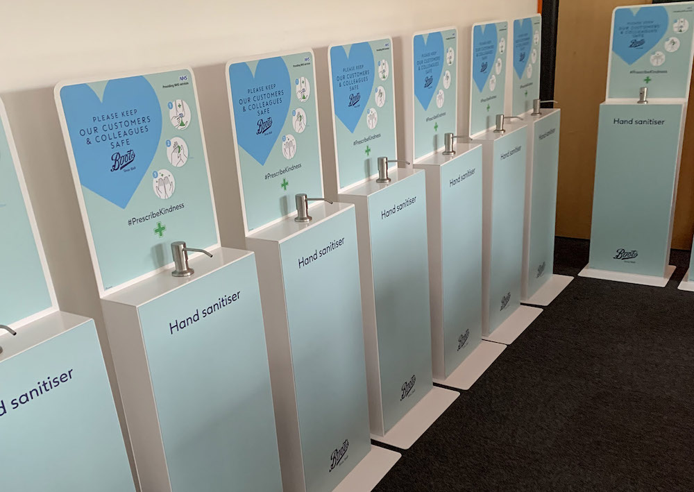 SDi's new hygiene solutions in demand as Boots, M&S and Tesco race to protect staff and customers