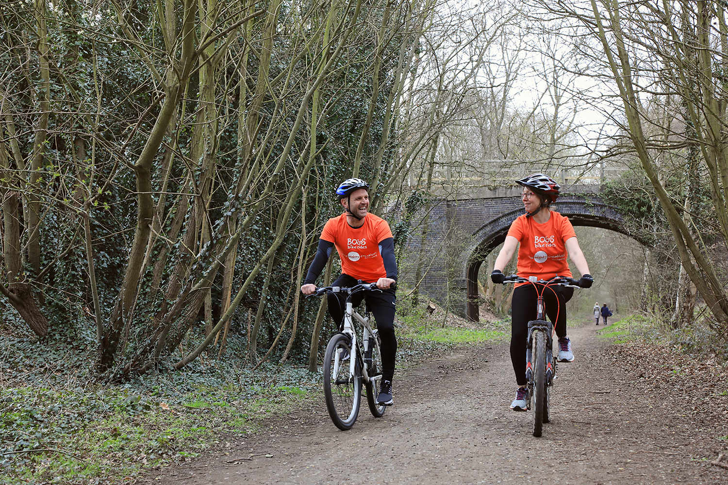 Charity bosses switch gears to raise £100,000 for young people by peddling new campaign