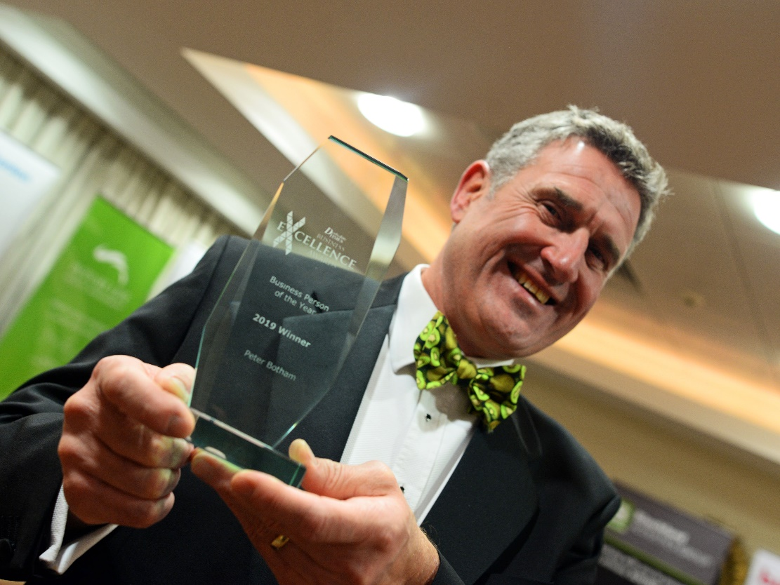 'Captain Chaos' Wins Businessperson of the Year