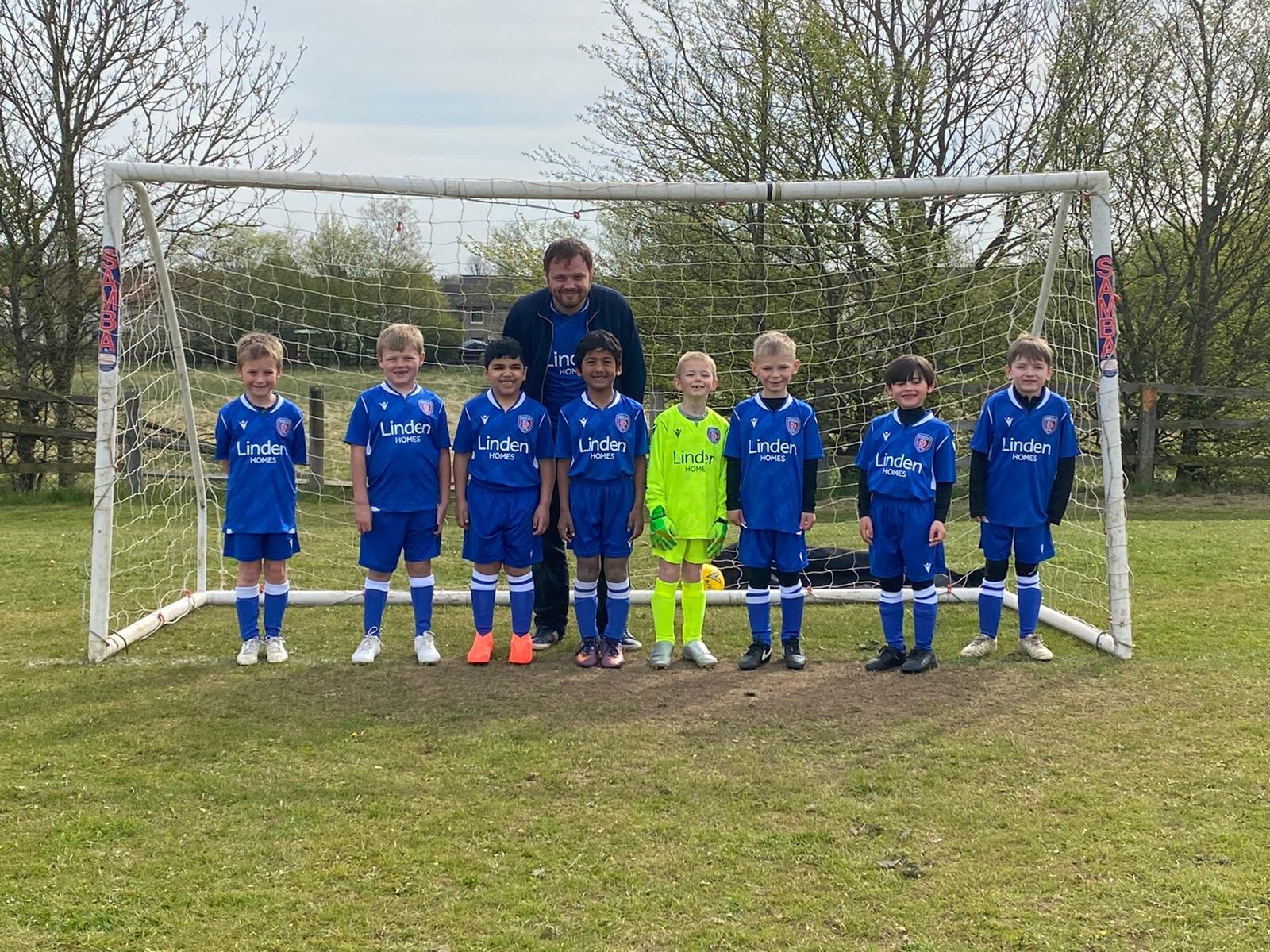 Linden Homes sponsor local football team