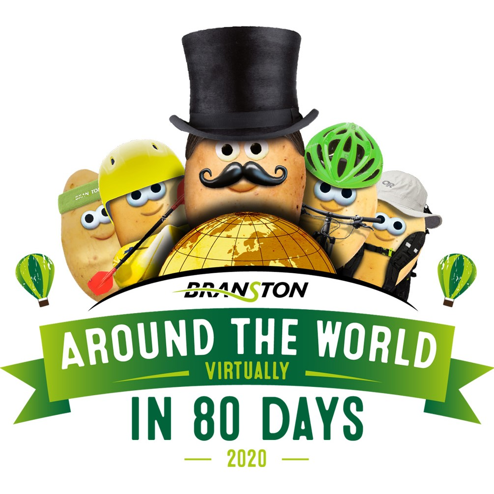 BRANSTON RACES AGAINST THE CLOCK IN A BID TO TRAVEL AROUND THE WORLD IN 80 DAYS