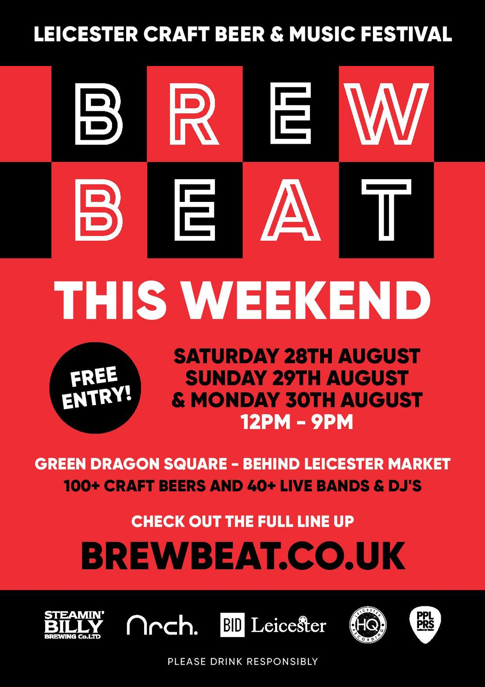 72 hours to go until three-day festival of craft beer, food and music is served in Leicester city