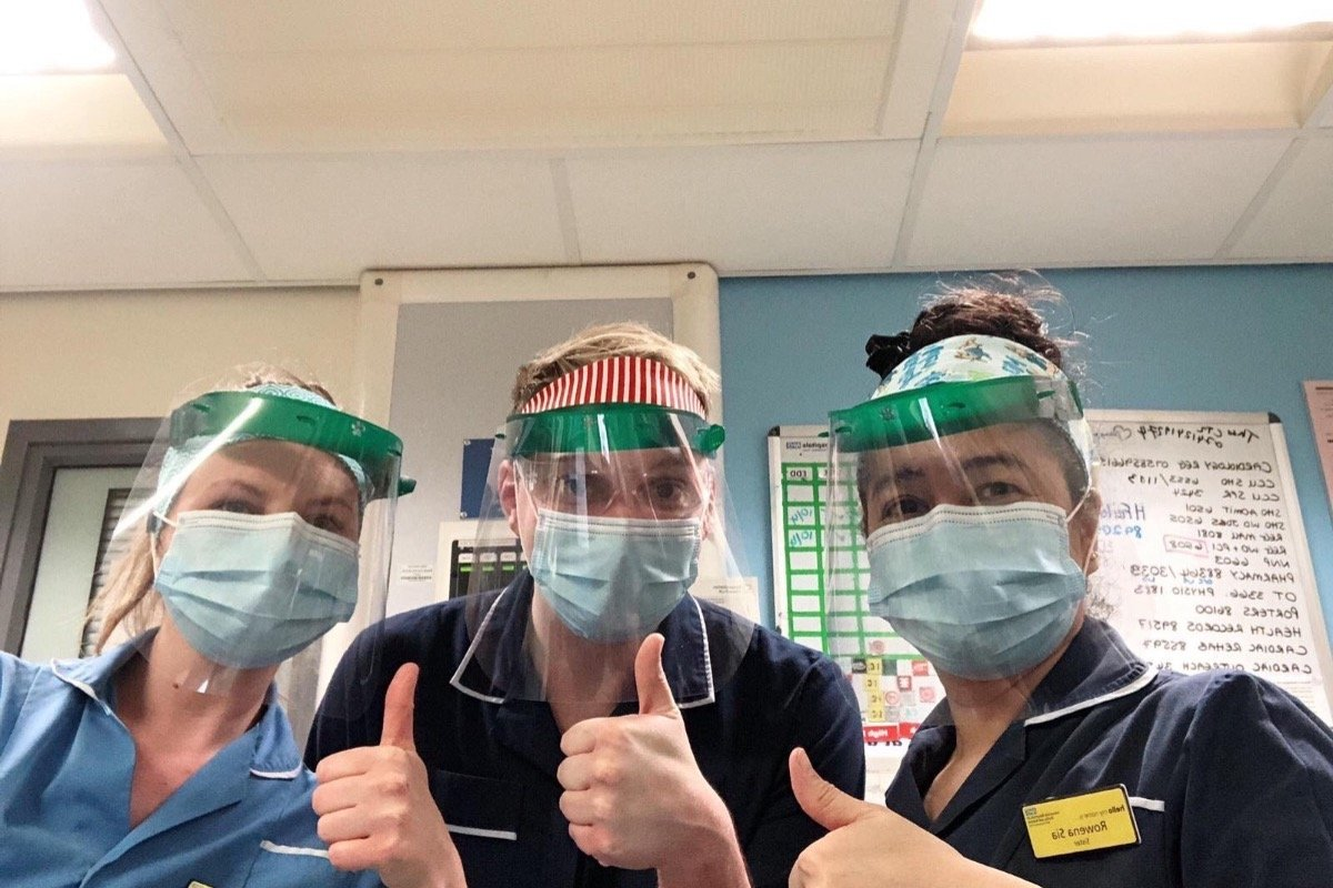 Housebuilders support group's bid to provide face visors for NHS heroes