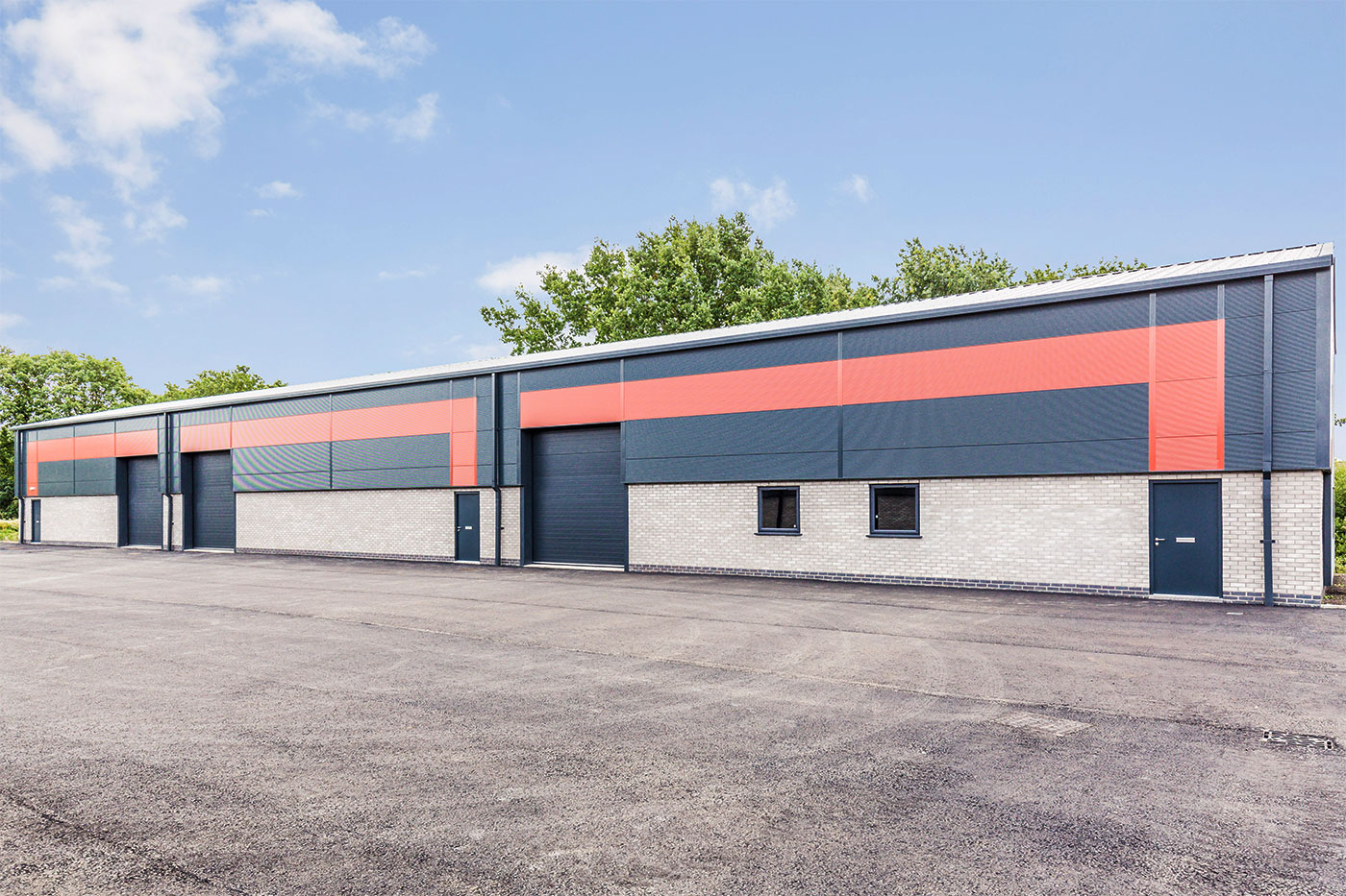First phase completed on Lincoln's brand-new business park