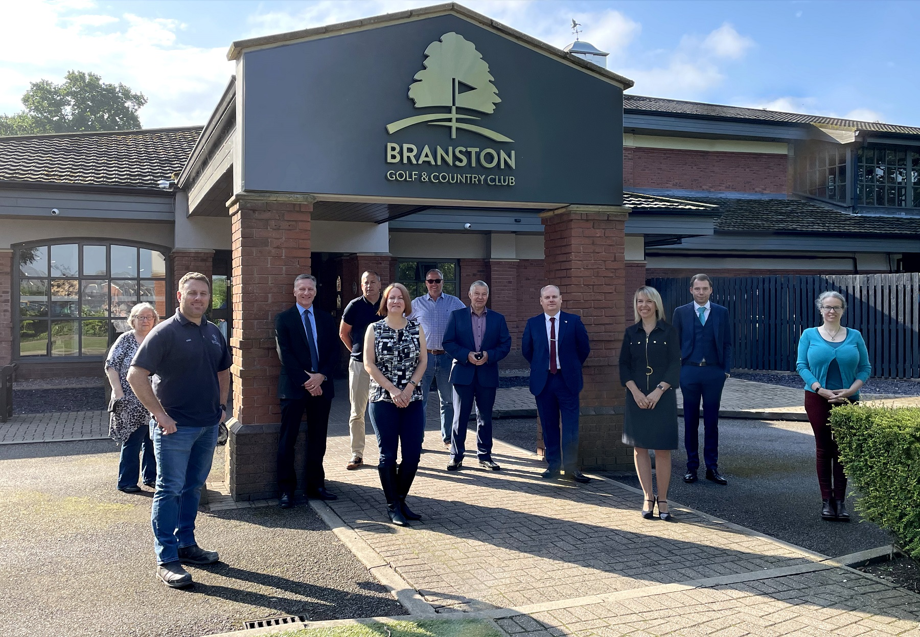 Burton businesses celebrate three years of local groupas firm trebles turnover thanks to much needed support