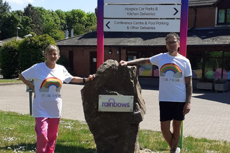 Limited edition hospice t-shirts proving popular with celebrities