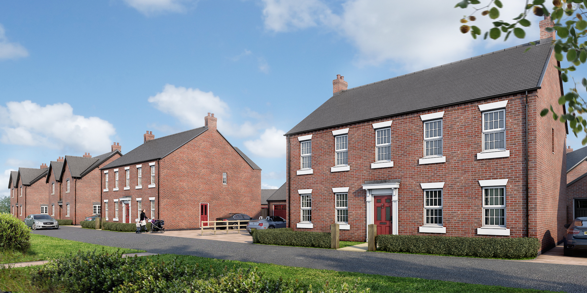 Planning submitted for new Peveril Homes development in Kirk Langley, Derbyshire