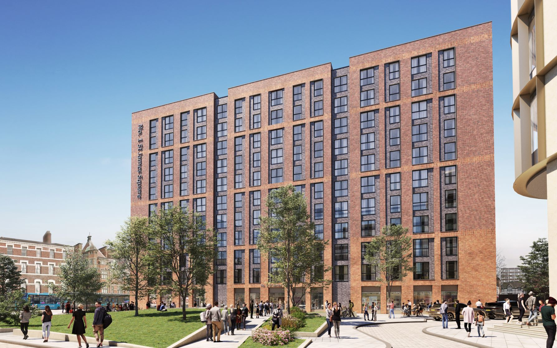 GRAINGER PLC TO FORWARD FUND AND OPERATE BTR ELEMENT OF THE £200M BECKETWELL SCHEME IN DERBY