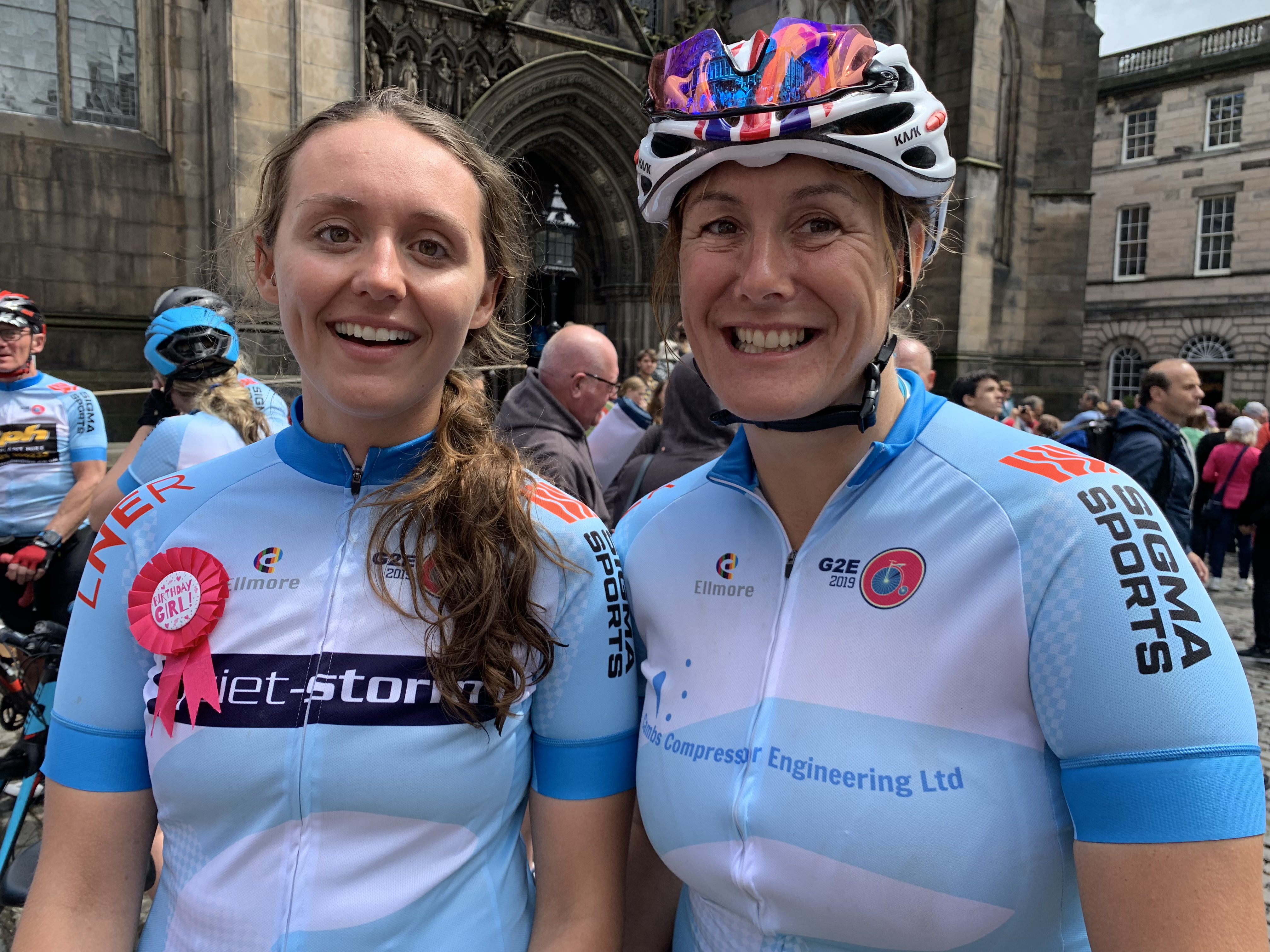 Director's pedal power helps to raise more than £20,000 for charity