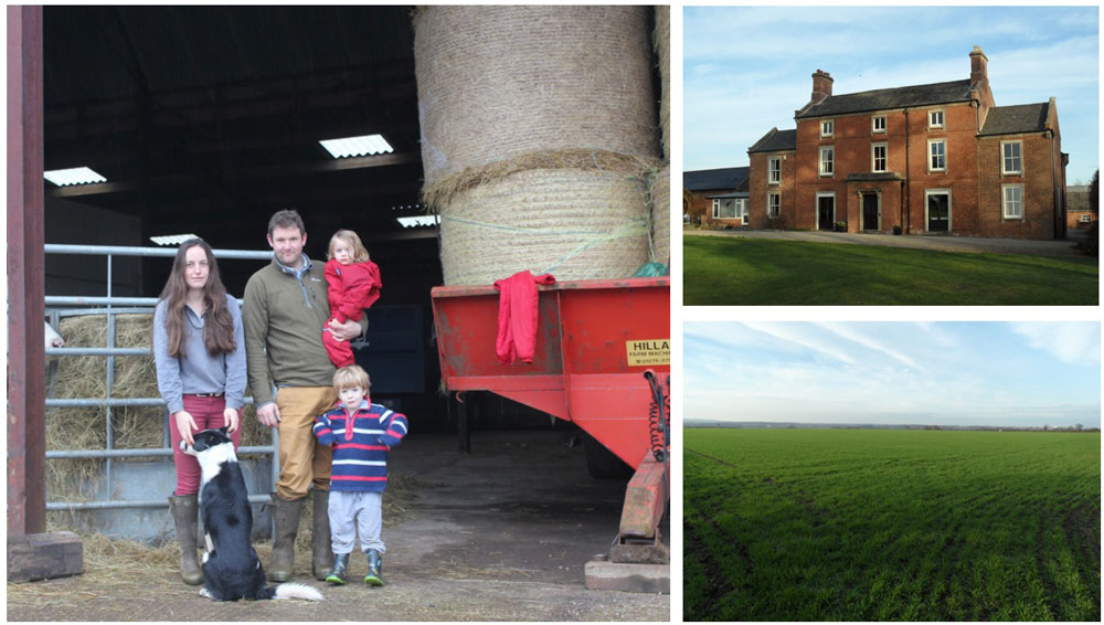 New tenants at Normanton Farm lay the groundwork for going organic