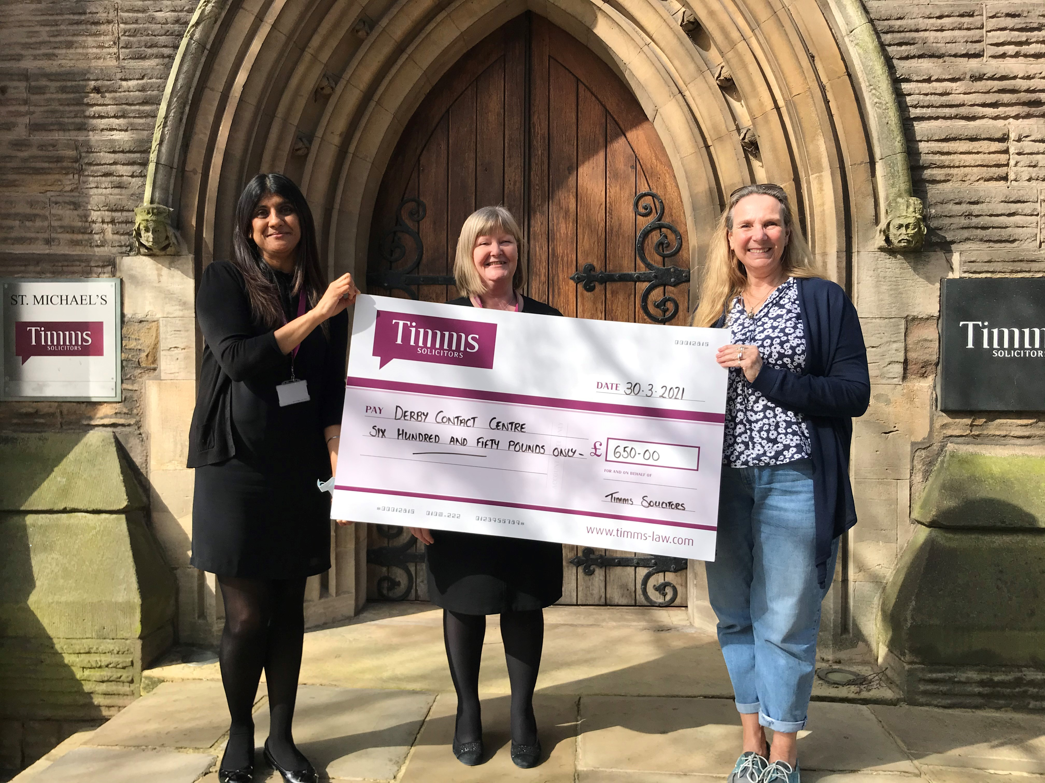 Timms Solicitors' First Virtual Conference Supports Local Charities