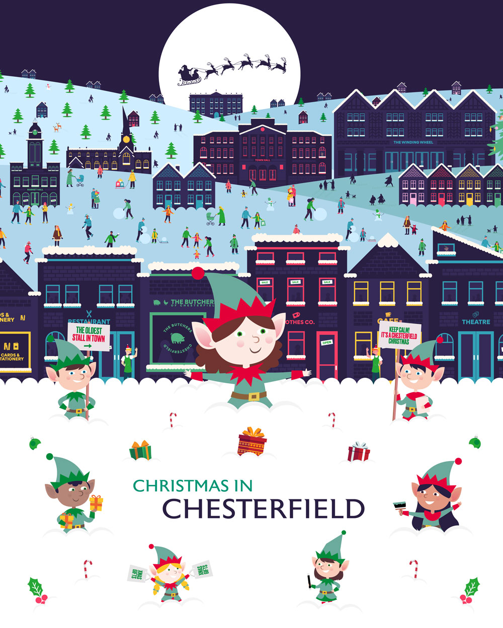 Chesterfield puts the magic back into Christmas
