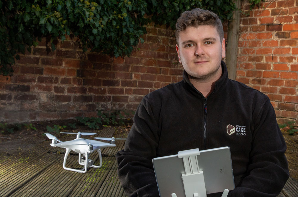 The Sky's the Limit after securing CAA Permission for Commercial Drone