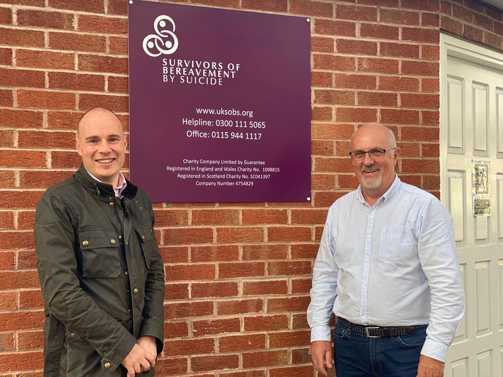 OMEETO secures new Ilkeston base for national charity