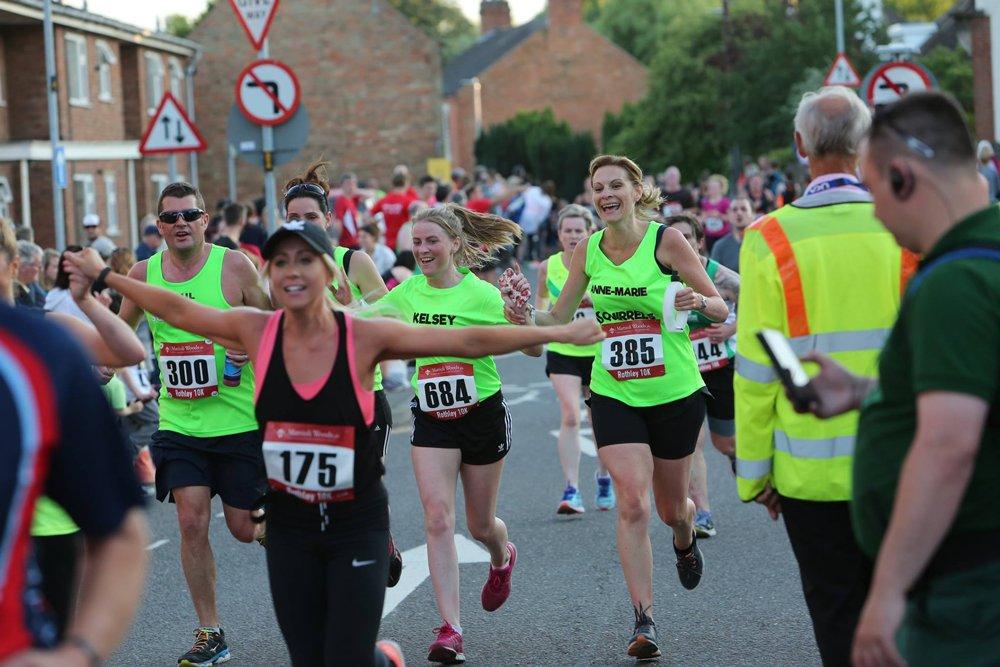 Champions (UK) plc sponsors Rothley 10k event