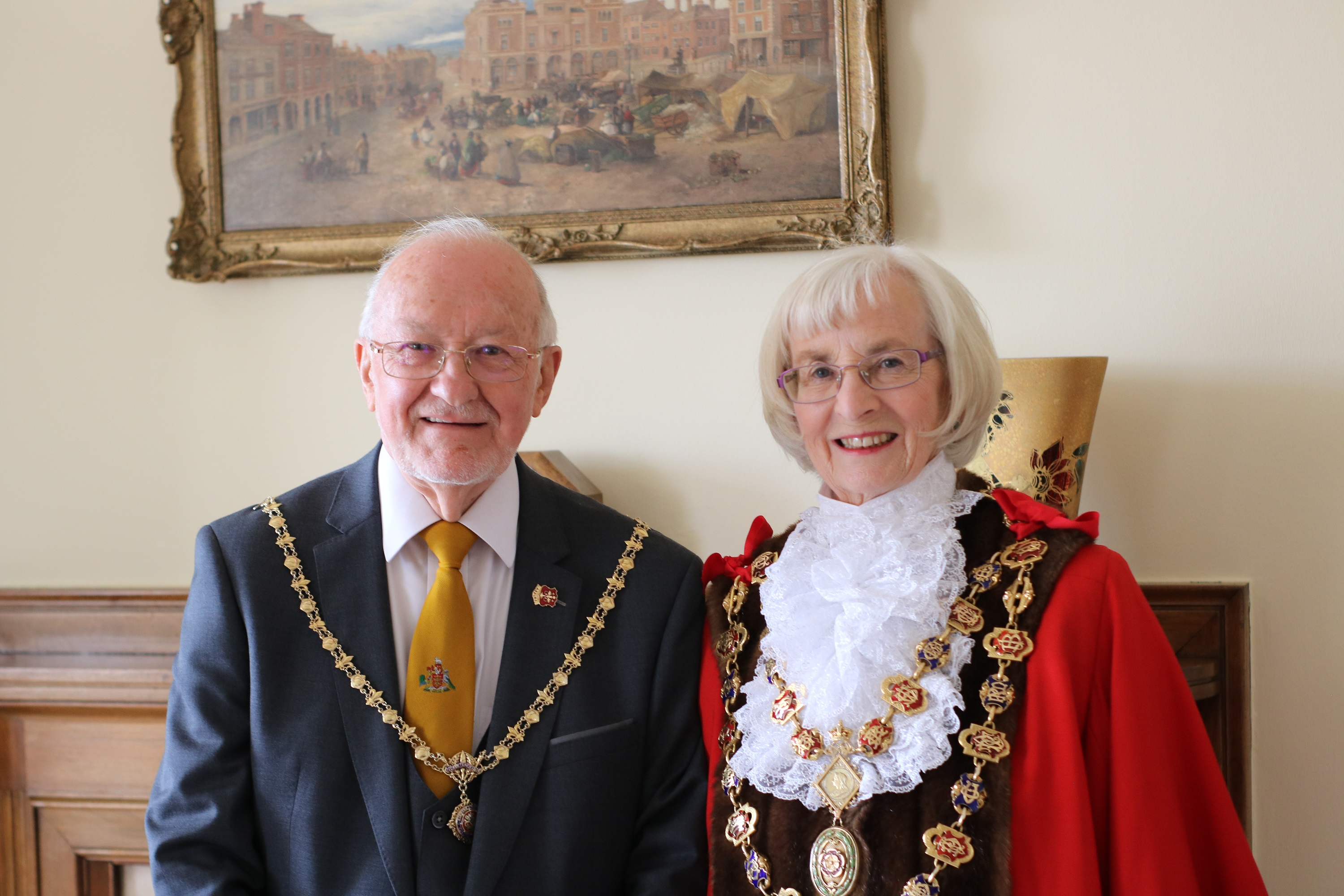 Chesterfield Mayor sworn in for extended term