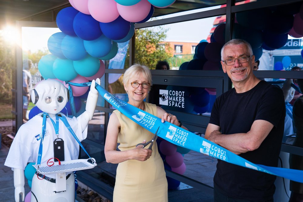 Cobot Maker Space launched to explore the future of robots and industry
