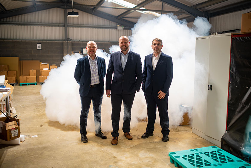 Lincolnshire security fog manufacturer secures £250,000 from MEIF