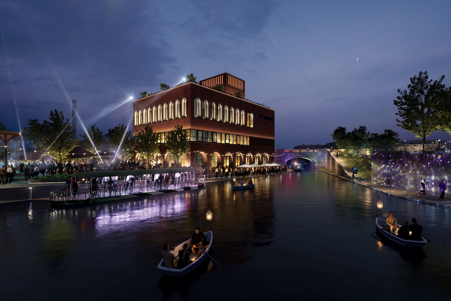 FURTHER ISLAND QUARTER PLANS REVEALED AS PART OF ON-SITE EVENT