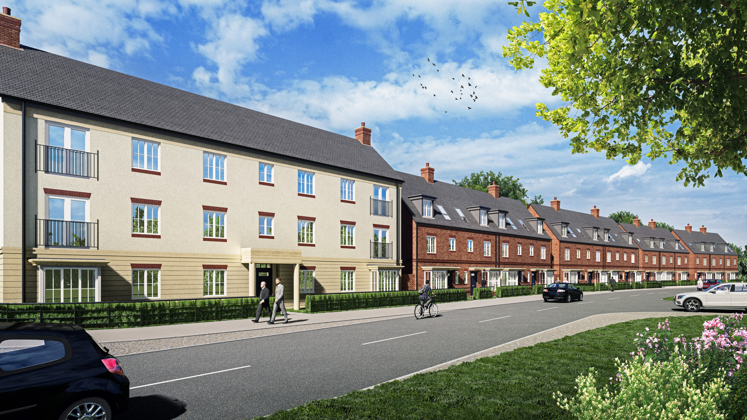 Countryside becomes first housebuilder to commit to £800 million Fairham scheme