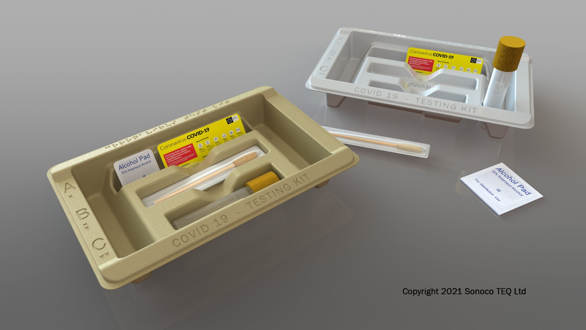 TEQ's COVID-19 testing kits boosted by enhanced presentation and component protection