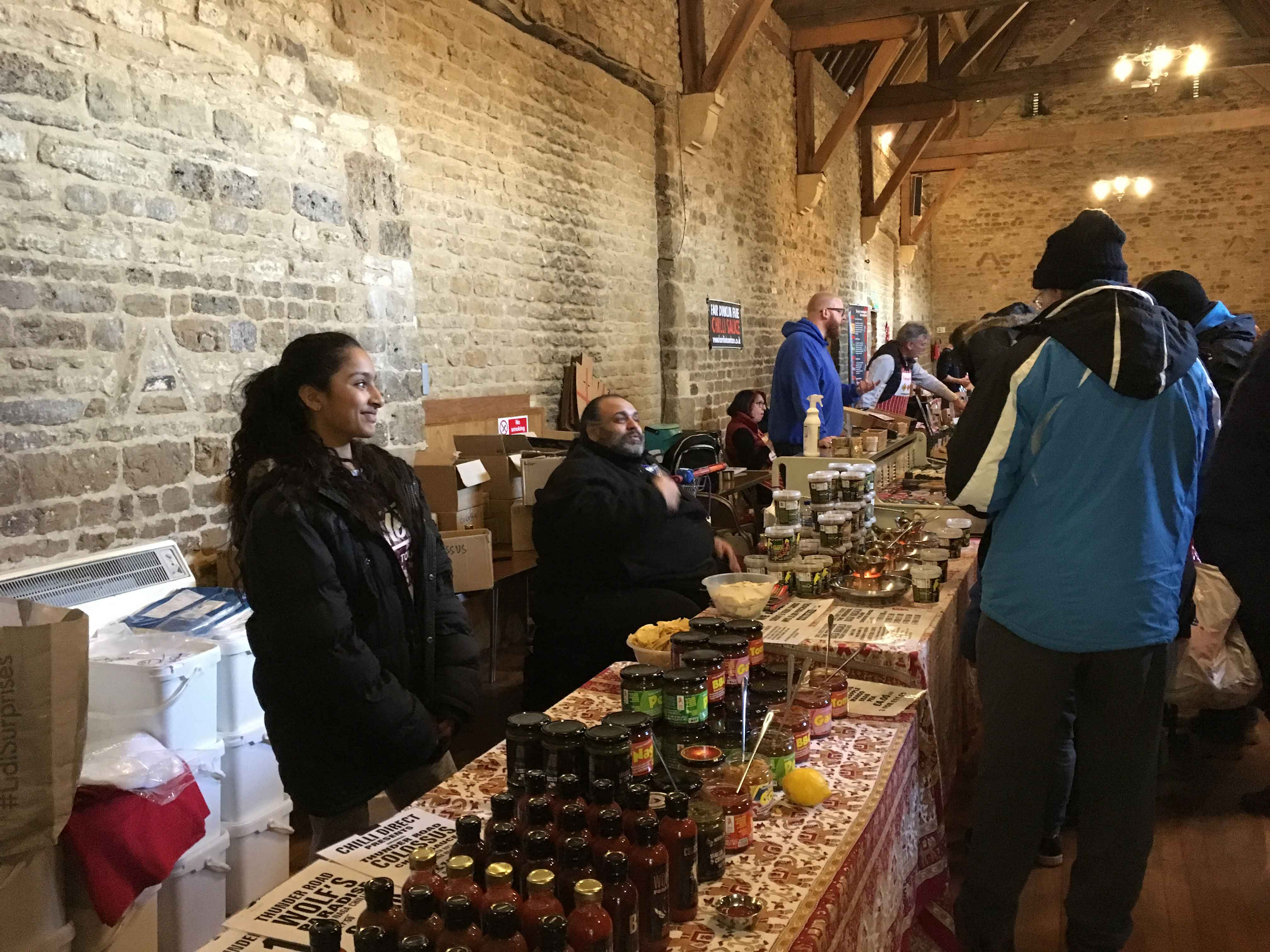 Warm weather in Wellingborough adds to ChilliFest heat
