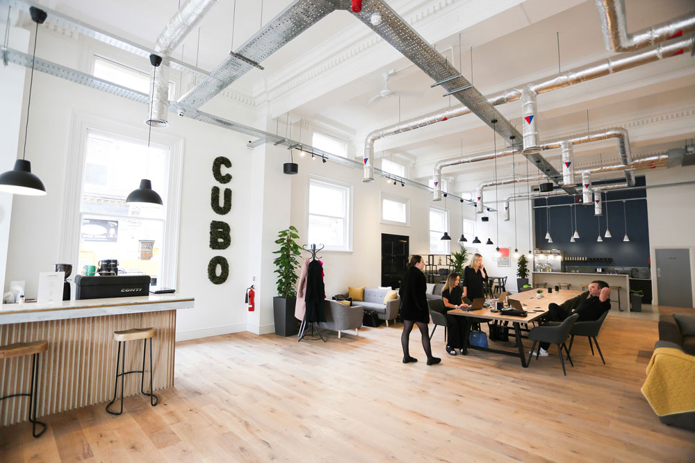 Stunning new co-working space opens its doors in Derby city centre