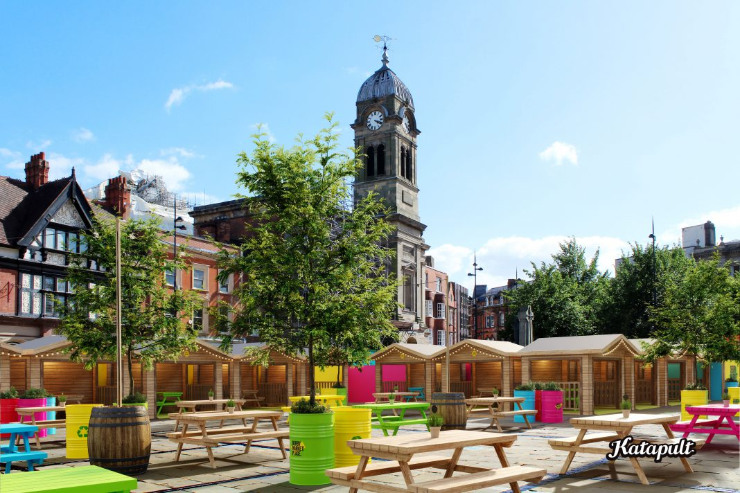 Derby Market Place is to be transformed into an exciting venue for food and entertainment