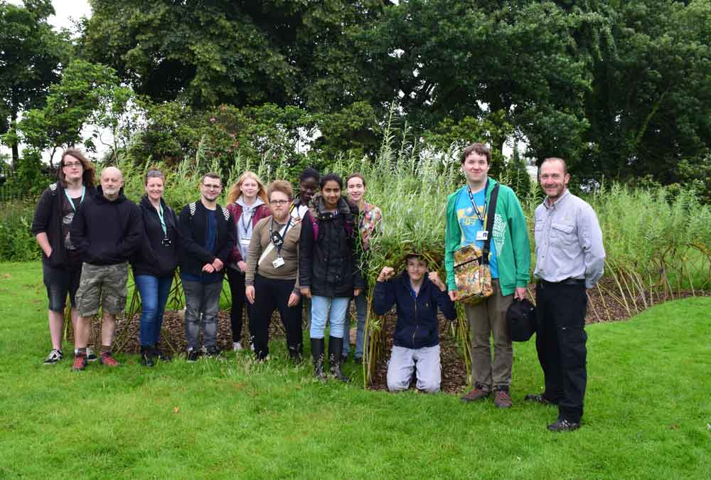 New eco play area created by Nottingham College students