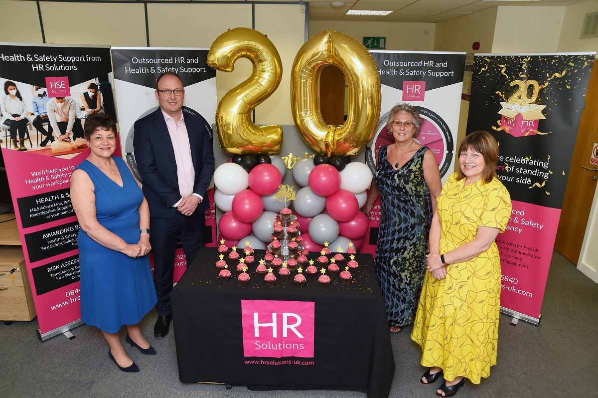 HR Solutions celebrates 20th anniversary year!