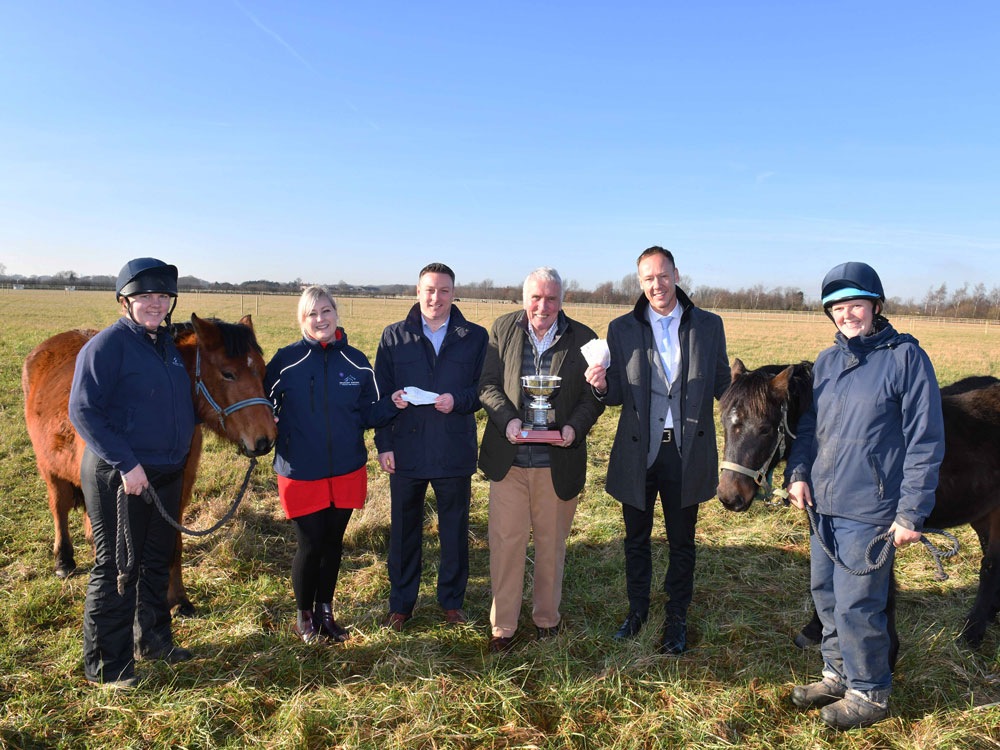 Game produces a boost for equine charity
