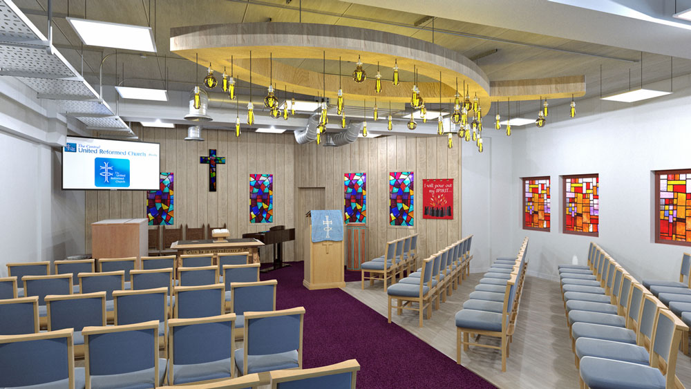 DSP (Interiors) Ltd appiointed to design new home for Derby Central United Reformed Church
