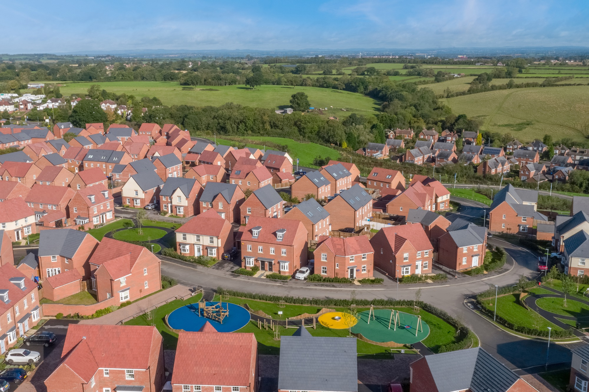 HOMEBUILDER LOOKS BACK ON £8.5M COMMITMENT TO DERBYSHIRE AS COMMUNITIES COMPLETE