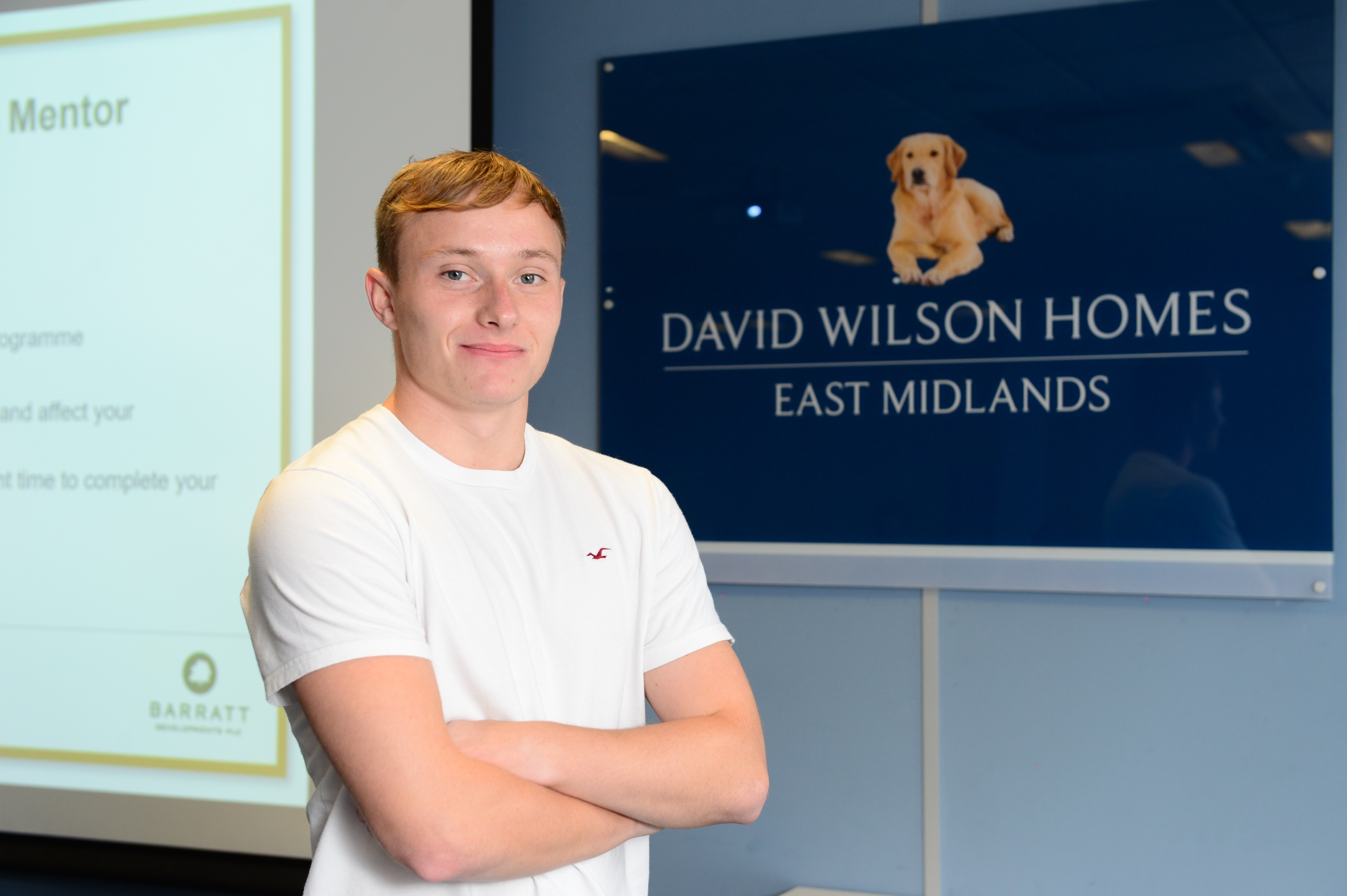 LEICESTERSHIRE HOMEBUILDER'S LATEST APPRENTICES LOOK AHEAD TO CAREERS IN CONSTRUCTION