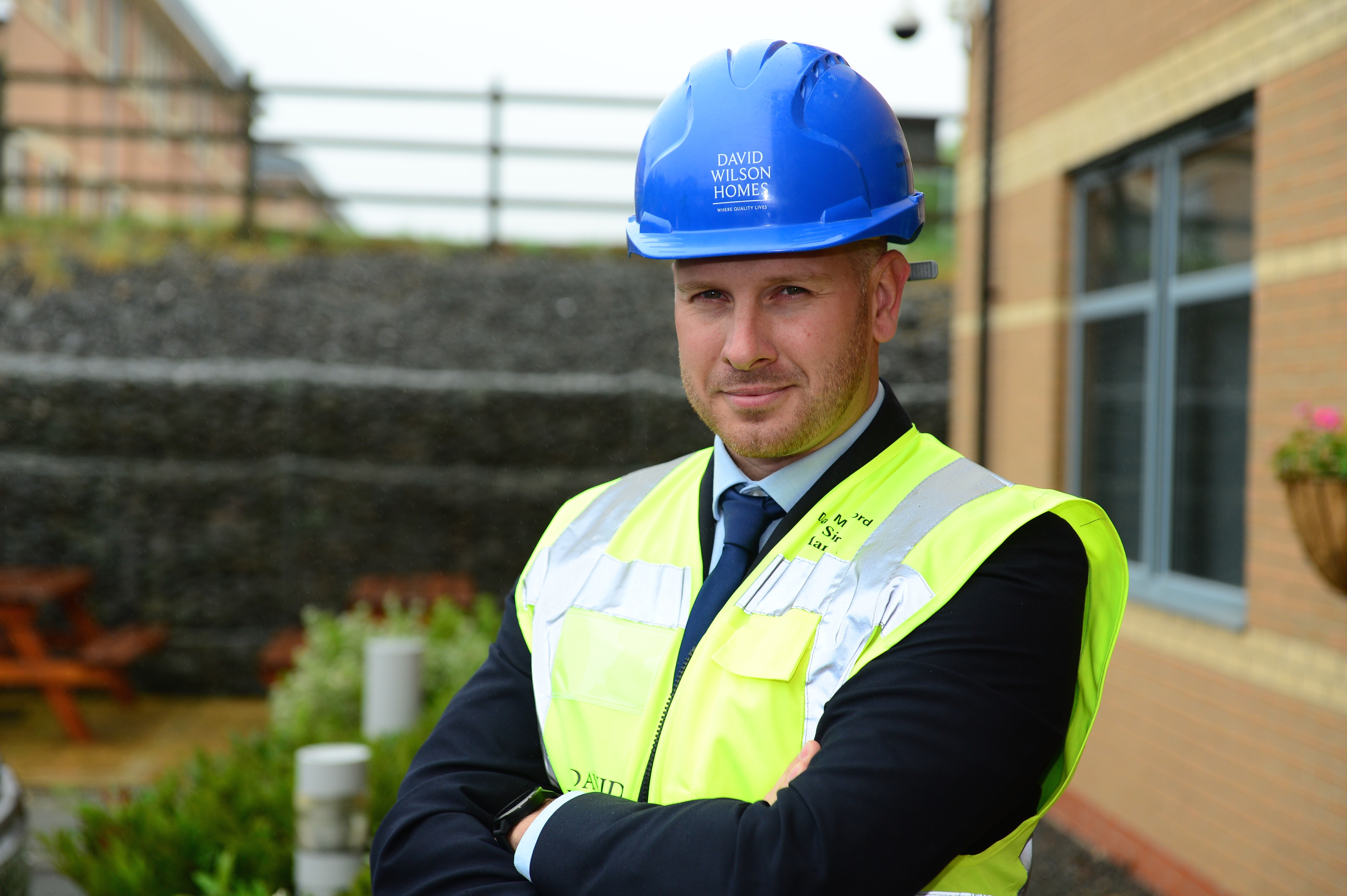 DAVID WILSON HOMES SITE MANAGER IN BINGHAM RECOGNISED AMONGST BEST IN THE COUNTRY