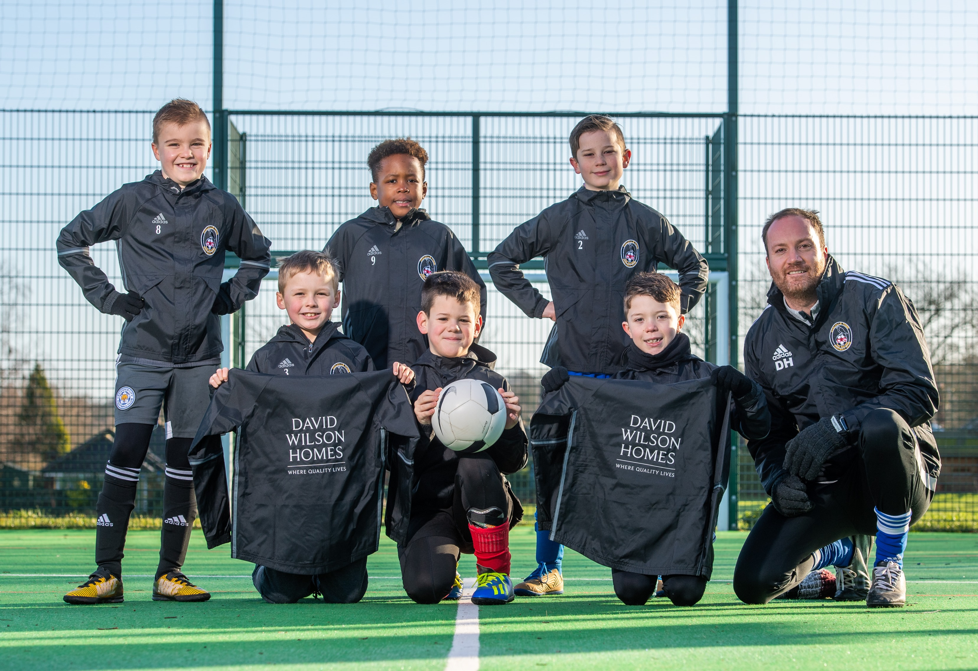 Coalville Football Club Scores New Sponsorship With David Wilson Homes
