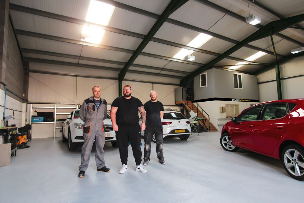 Dack Motor Group expands with Lincoln automotive bodyshop