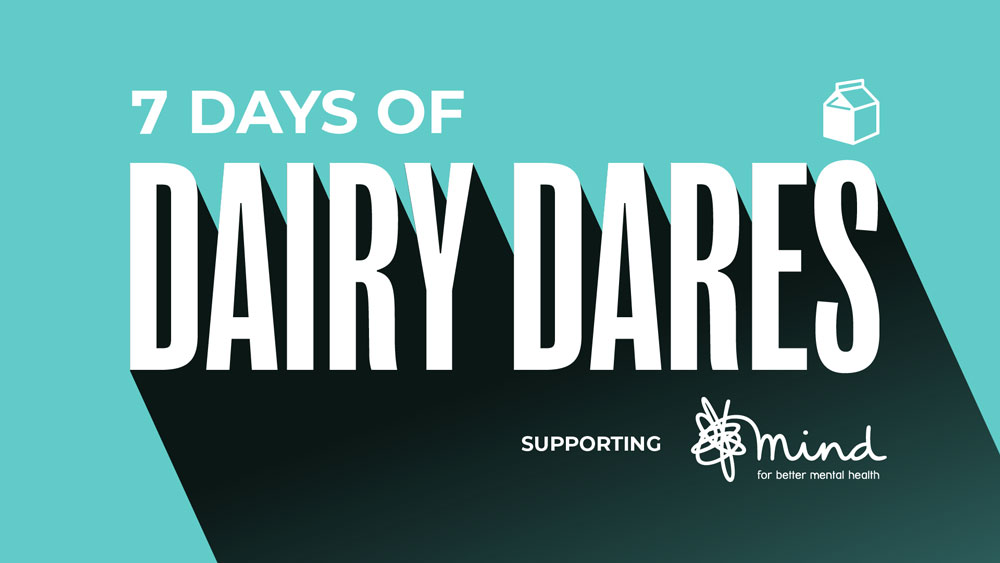 'Dairy Dares' to face its fears this Christmas to raise money for mental health charity, Mind