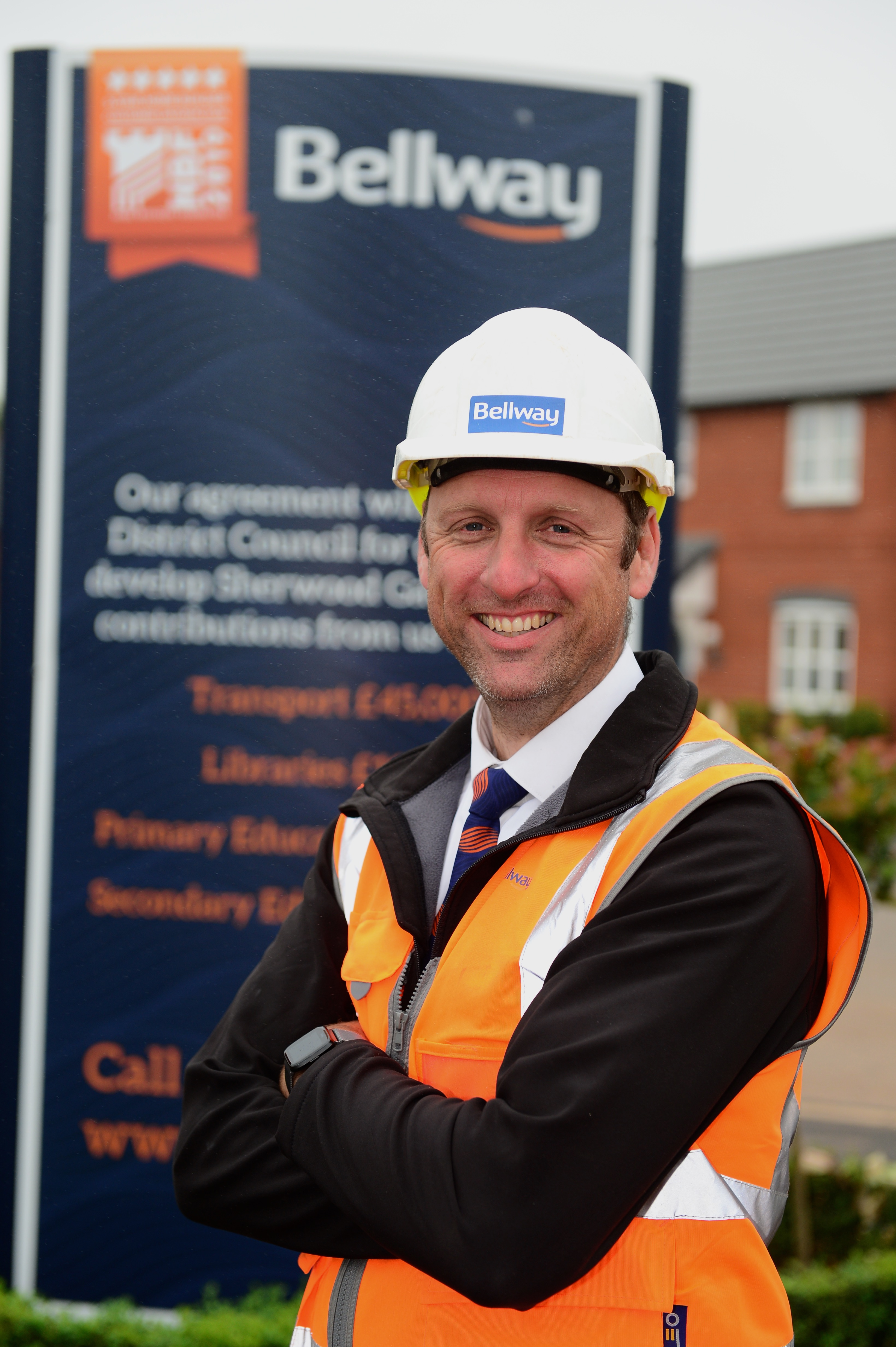 Four local building site managers secure a top industry accolade