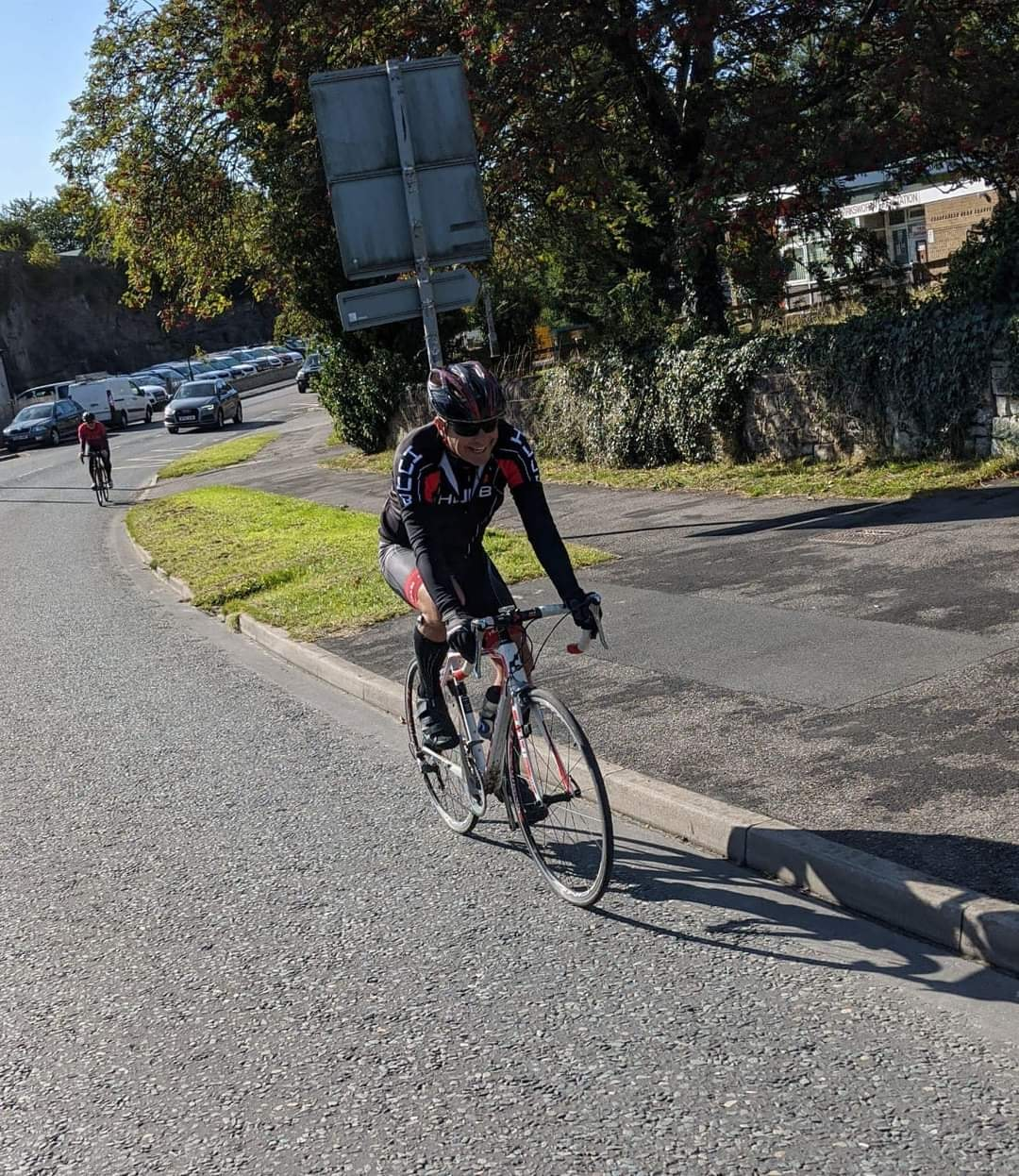 Recruitment boss uses pedal power to support local athletes