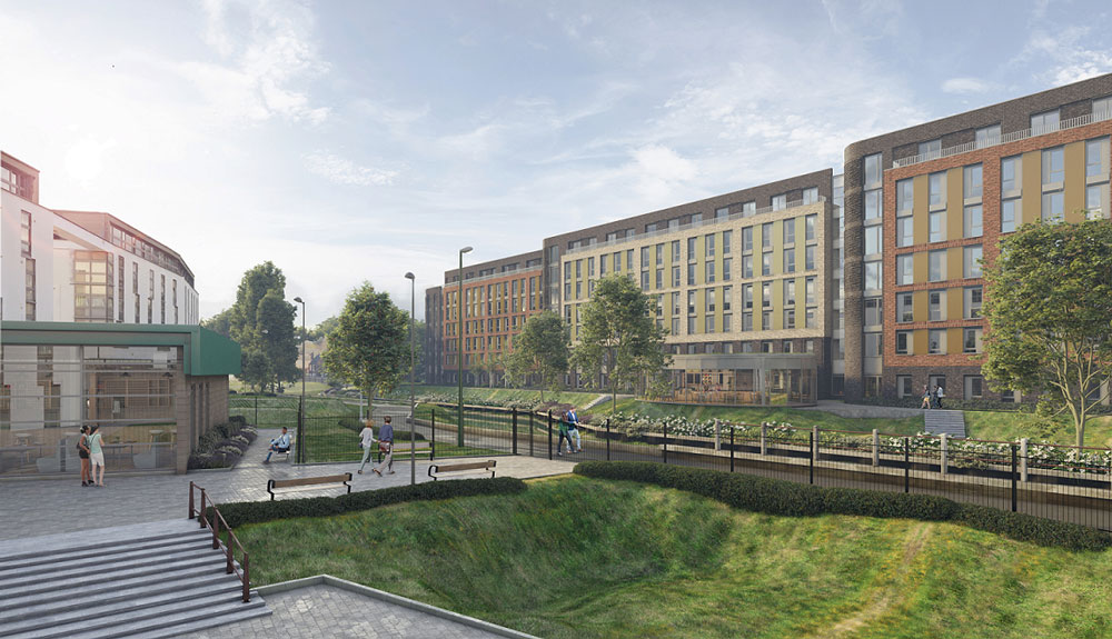 FHP sell former Willbond depot for a 703 bed student scheme in Nottingham